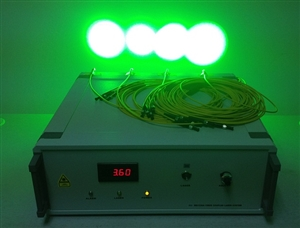 单波长多路输出激光器系统